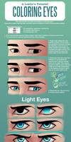 A Lostie's Tutorial - Coloring Eyes by LauraHollingsworth