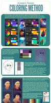 A Lostie's Tutorial - Coloring Method by LauraHollingsworth