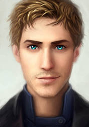 Lunar Chronicles - Captain Carswell Thorne by LauraHollingsworth