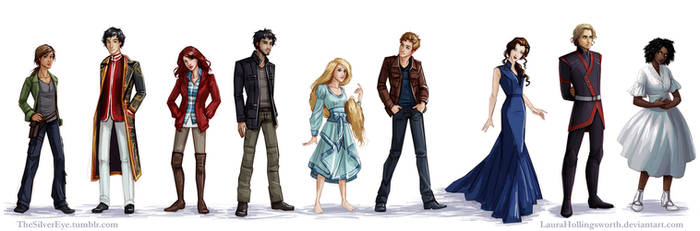 Lunar Chronicles Characters by LauraHollingsworth