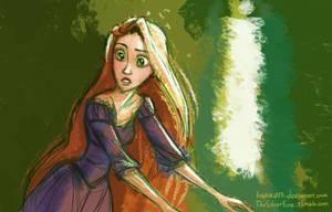 Tangled - Rapunzel by LauraHollingsworth