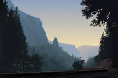 Yosemite Speedpaint 2 by LauraHollingsworth