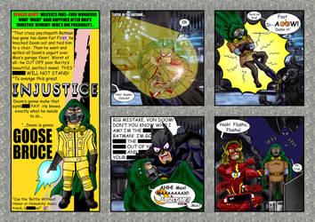 Yo! Injustice: Goose Bruce by Solariskaliber