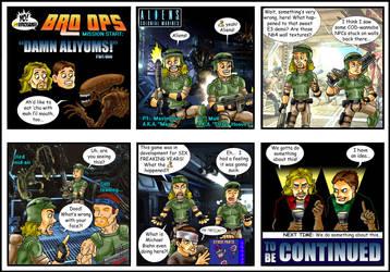 Yo! Videogames BRO OPS: Damn Aliyums! (1 of 2) by Solariskaliber
