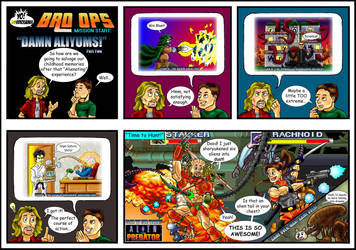 Yo! Videogames BRO OPS: Damn Aliyums! (2 of 2) by Solariskaliber
