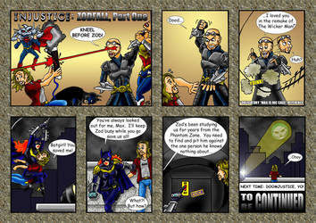 Yo! Injustice: Zodfall (1 of 2) by Solariskaliber