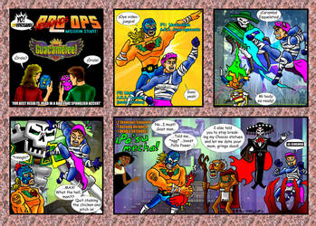 Yo! Videogames BRO OPS: Guacamelee! by Solariskaliber