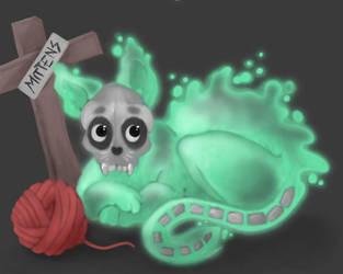 Haunted Ball of Wool by Arachnopus