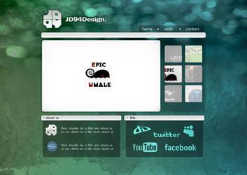 My Personal Website JD94Design by JD94Design