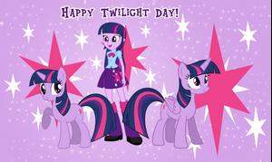 Twilight Sparkle Day by AndoAnimalia