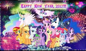 Happy New Year 2017!!! by AndoAnimalia