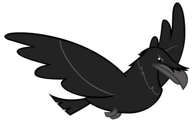 Ghastly Gorge Raven by AndoAnimalia