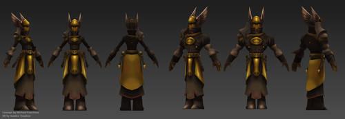 3D Torchlight Armor 02 by HeatherBea
