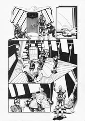 Judge Dredd: Interrogation 3 by AaronSmurfMurphy