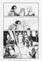 Judge Dredd: Interrogation 4 by AaronSmurfMurphy