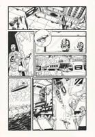 Judge Dredd: Gun Runner 5 by AaronSmurfMurphy