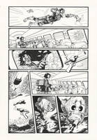 Judge Dredd: Gun Runner 6 by AaronSmurfMurphy