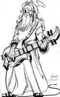 Battle Metal God by AaronSmurfMurphy