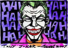 Joker Blair by AaronSmurfMurphy
