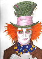 The mad hatter by AMYisC0P1C