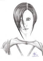 Charlize Theron -  Aeon Flux by AMYisC0P1C