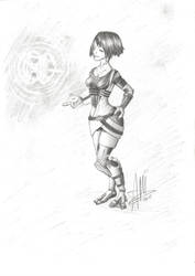Tali -  without mask (my version) by AMYisC0P1C
