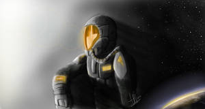 a spaceman by AMYisC0P1C