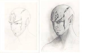 draw this again - N E R O by AMYisC0P1C