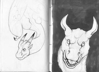 sketchbook action by AMYisC0P1C