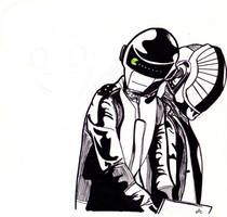 Daft Punk by LightvsRight