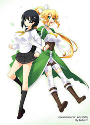 Suguha and Lyfa by Butter-T