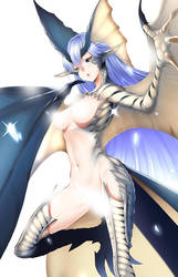 Ice Dragon, Legiana by Butter-T