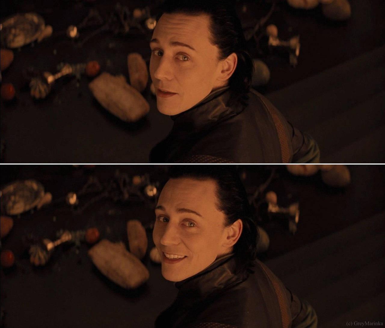 Smile Loki by GreyMarinka
