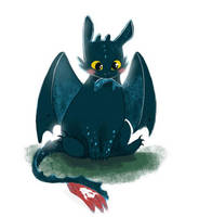 Night cutie fury by Celiarts