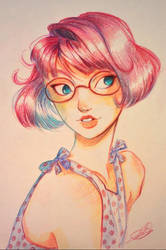 Pink lady by Celiarts