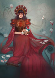 Queen of Hearts by Celiarts