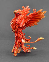 Phoenix Sculpture by MyOwnDragon