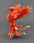 Phoenix Sculpture by MyOwnDragon