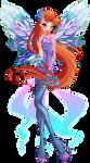 Winx Club - Bloom 2D Dreamix by Feeleam