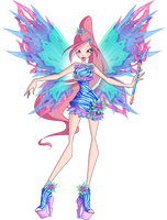 Winx Club - Feelie - Mythix Reference by Feeleam