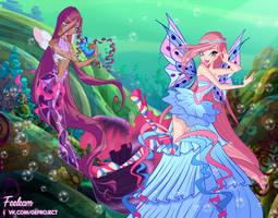 COLLAB - Pandora and Feelie by Feeleam