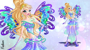 ENIX COMMISSION: Merilia - Fairy Couture by Feeleam