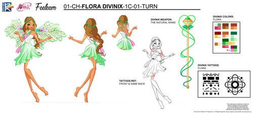 DIVINIX - Flora Concept Art by Feeleam