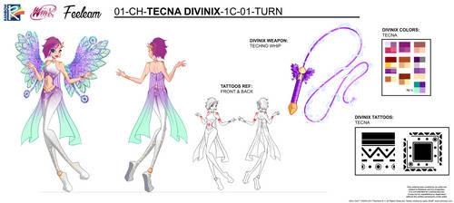 DIVINIX - Tecna Concept Art by Feeleam