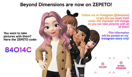 Beyond Dimensions are now on ZEPETO! by Feeleam