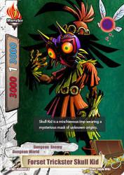 Forset Trickster Skull Kid BF Card by sonicxjones