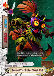 Forset Trickster Skull Kid Variant BF Card by sonicxjones