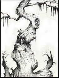 tree of horror by Mirleanda