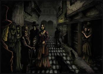 Die Strasse der Toten- colored by Mirleanda