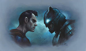 batman v superman by JuxnLex